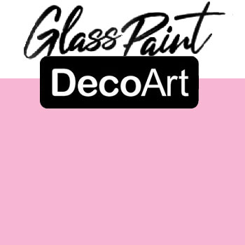 DecoArt Glass Paint - Pink 2oz