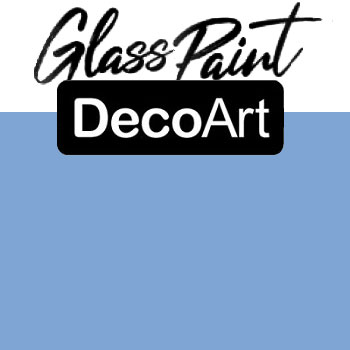 DecoArt Glass Paint - Light Blue 2oz