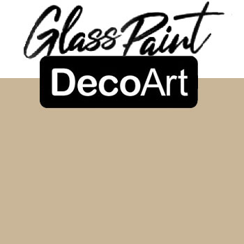 DecoArt Glass Paint - Beige 2oz