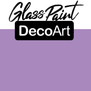 DecoArt Glass Paint - Soft Violet 2oz