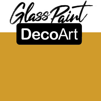 DecoArt Glass Paint - Dijon 2oz