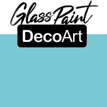 DecoArt Glass Paint - Sky Blue 2oz