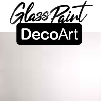 DecoArt Glass Paint - White Pearl 2oz