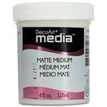 Media Matte Medium Clear - 4oz