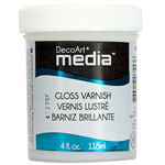 Media Varnish Gloss - 4oz