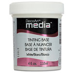 Media Tinting Base White - 4oz