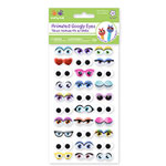 Cartoon Googlie Eyes - Self-stick - 30 pairs