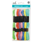 Embroidery Floss 8pc - Pastels