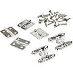 Clasp & Hinge Set #2 - Silver