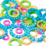 Stitch Ring Markers (4 sizes) - 40pc