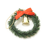 Miniature - Wreath with Bell