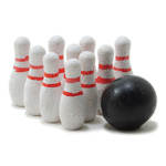 Miniature - Bowling Set 11pc