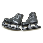Miniature - Ice Skates Black