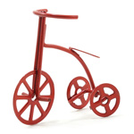 Miniature - Red Tricycle
