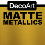 Matte Metallic - Vintage Brass- 2oz