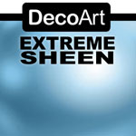 Sky Blue Topaz DecoArt Extreme Sheen - 2oz