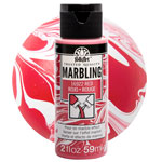 FolkArt Marbling Paint - Red 2oz