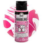 FolkArt Marbling Paint - Hot Pink 2oz
