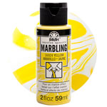 FolkArt Marbling Paint - Yellow 2oz