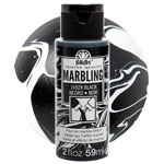 FolkArt Marbling Paint - Black 2oz
