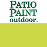 Patio Paint Lime Zest - 2oz