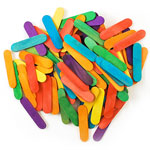 Craft Sticks Coloured - 2 1/2