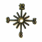 Star Burst Clock Dial - 4