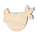 "Funky Chicken - Holly - 5"" wide (Retired Shape)"