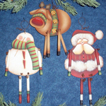 Cyndi Combs Packet - Christmas Danglers Packet