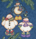 Cyndi Combs Packet - Wynter Friends Ornaments