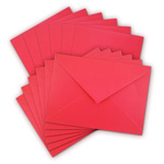 Cards & Envelopes - Red - 4 1/2