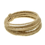 Wired Linen Cord 1.6mm x 3m (6-ply) - Natural