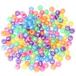 Pony Beads Pearlized Mix - 175pc