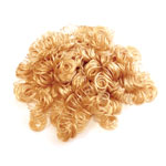 Doll Hair Strawberry Blonde - 13mm curls - 1/2 ounce pkg
