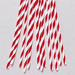 Chenille Stems Twist Candy Cane (12pc) - 12