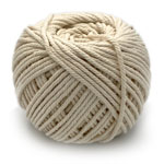 Cotton Macrame Cord - Natural 3mm x 100 metres