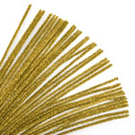 Chenille Stems Gold (35pc) - 12