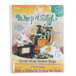 Wrap-n-Style Shrink Wrap Bag - 2pc
