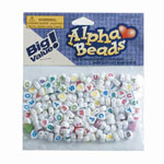 Alpha Heart Beads - 6mm