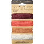 Hemp Cord Set - Coral Reef 20lb - 120'