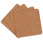 Cork Coaster 4pc Set - 4