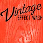 Vintage Effect Wash 8oz - Red