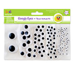Googly Eyes Assorted 5 sizes (5-25mm)