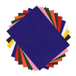 Felt Sheet Assorted Set - 10pc - 9
