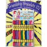 Friendship Bracelets 102 Book with Floss Pack