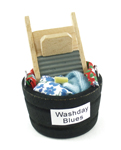 Washtub with Scrub Board - 2