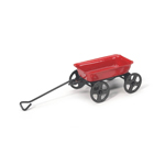 Mini Small Red Wagon - 3 1/4