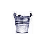 Galvanized Metal Pail - 2 3/8