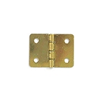 Brass Plated Hinge - 3/4