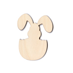 "Easter Ornies - Bunny in Egg - 4 1/2"" (Retired Shape)"